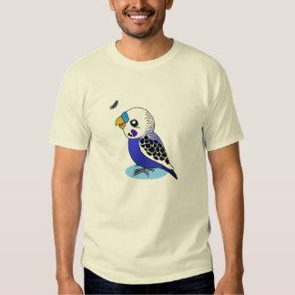budgerigar opalino lindo remera