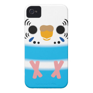 Budgerigar (Skyblue Pied Female) iPhone 4 Case-Mate Cases