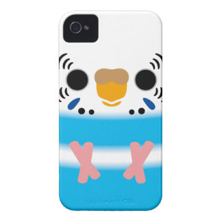 Budgerigar (Skyblue Pied Female) iPhone 4 Cover
