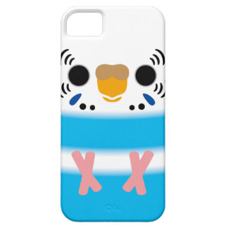 Budgerigar (Skyblue Pied Female) iPhone 5 Cover