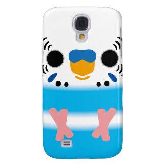 Budgerigar (Skyblue Pied Male) Samsung Galaxy S4 Case