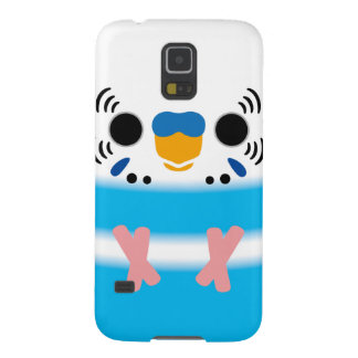 Budgerigar (Skyblue Pied Male) Galaxy S5 Cover