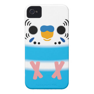 Budgerigar (Skyblue Pied Male) iPhone 4 Cases