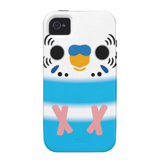 Budgerigar (Skyblue Pied Male) Vibe iPhone 4 Cases