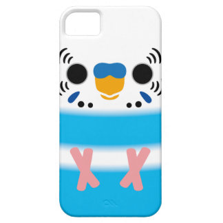 Budgerigar (Skyblue Pied Male) iPhone SE/5/5s Case