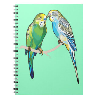 budgerigars note book
