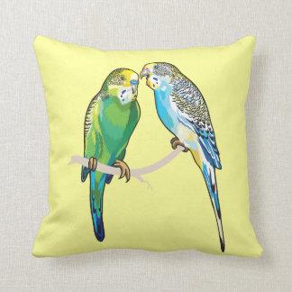 budgerigars pillow