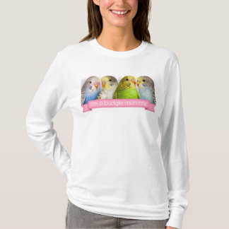 Budgerigars realistic painting T-Shirt