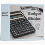 Budget 3 Ring Binder