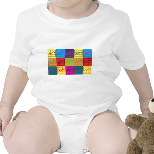 Budget Analysis Pop Art Baby Bodysuit