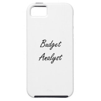 Budget Analyst Artistic Job Design iPhone 5 Covers