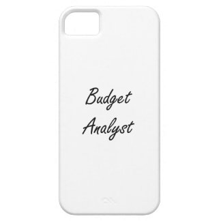 Budget Analyst Artistic Job Design iPhone 5 Cover