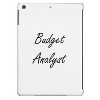 Budget Analyst Artistic Job Design Case For iPad Air