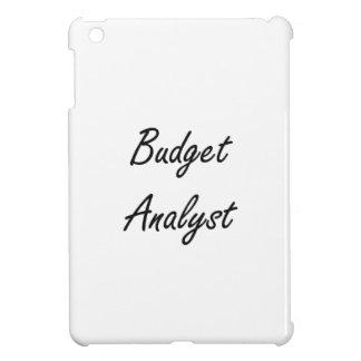 Budget Analyst Artistic Job Design Case For The iPad Mini
