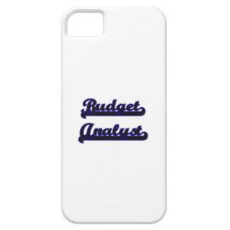 Budget Analyst Classic Job Design iPhone 5 Case