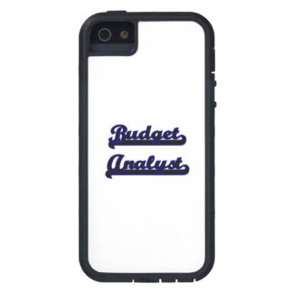 Budget Analyst Classic Job Design Cover For iPhone 5