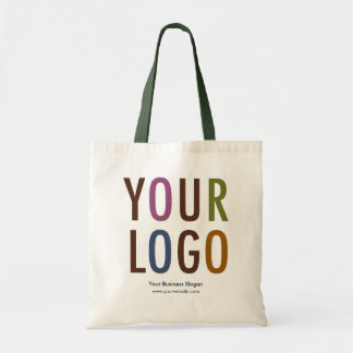 Budget Business Tote Bag with Custom Logo Branding