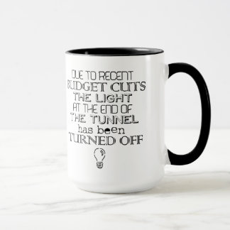 Budget Cuts Coffee Mug