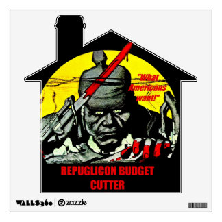 Budget Cutter - Wall Decal