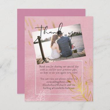 BUDGET Dusty Pink Gold Wedding