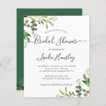 """Budget Eucalyptus Leaves Bridal Shower Invitations<br><div class=""""desc"""">Please note that envelopes are NOT included with this design. If you need envelopes,  please check our collection or purchase them separately from the marketplace. https://www.zazzle.com/c/envelopes</div>"""