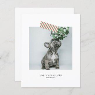 Budget Fun Striped Tape Christmas Photo