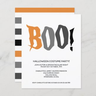 BUDGET Halloween Boo Personalized Spooktacular