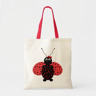 Budget Ladybug Tote Bag