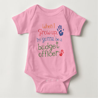 Budget Officer (Future) Infant Baby T-Shirt