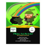 Budget St Patrick's Day Leprechaun, Pot of Gold Flyer