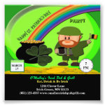 Budget St Patrick's Day Leprechaun, Pot of Gold Photo Print