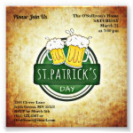 Budget St Patrick's Day Party Irish Brew Vintage Photo Print