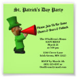 Budget St Patrick's Day Party Potluck Announcement Photo Print