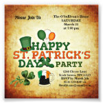 Budget St Patrick's Day Party Vintage Photo Print