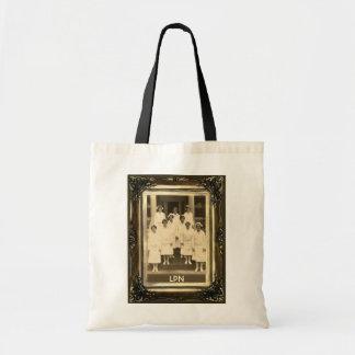 Budget Tote Bag Vintage Nurses LPN