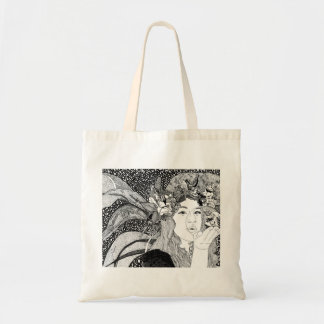 Budget Tote-Bubble Blowing Fairy Budget Tote Bag