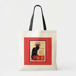 Budget Tote Cat Chat Noir Budget Tote Bag
