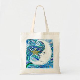 Budget Tote-MoonFace Tote Bag