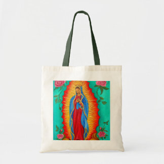 Budget Tote/ Our Lady of Guadalupe Tote Bag