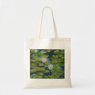 Budget Tote - Water Lilies at Hopeland Gardens