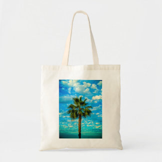 Budget Tote with Palm Tree