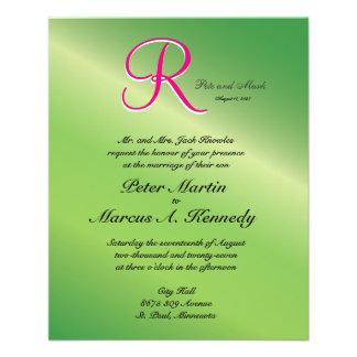 Budget Wedding Invitation Flyer