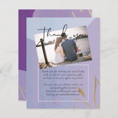 BUDGET Wedding Mauve Lavender Purple Gold Abstract