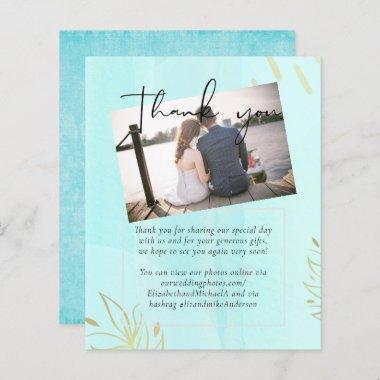 Budget Wedding Sea Blue watercolor Abstract