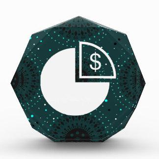 Budgets Icon Acrylic Award