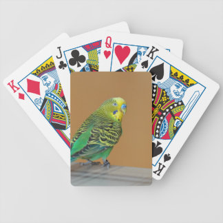 Budgie Bicycle Playing Cards