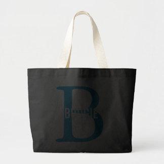 Budgie Bird Monogram Bags