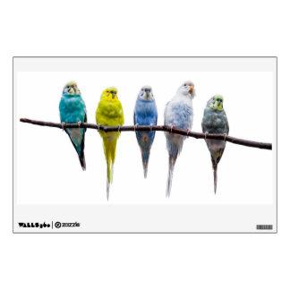 Budgie Birds Wall Sticker