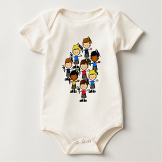 Budgie boys baby shirt (T19)