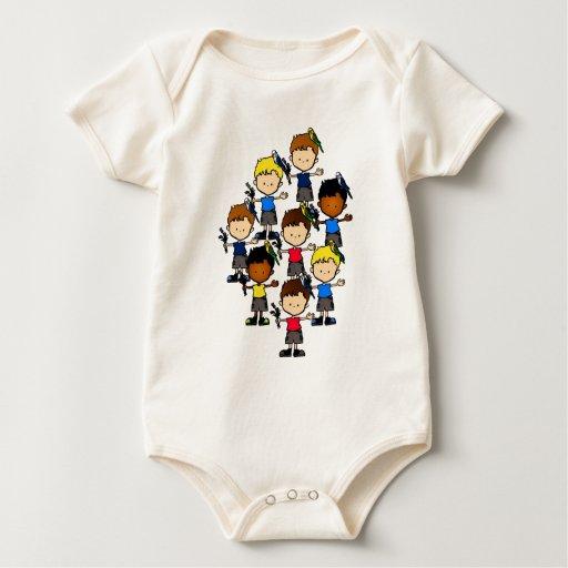 Budgie boys baby shirt (T19)